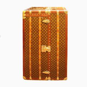 Großer Vintage Überseekoffer von Louis Vuitton