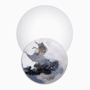 Overlap-Mirror No. 13 avec Etagère par Elisa Strozyk