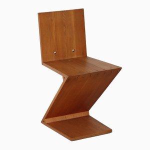 Chaise Zig Zag par Gerrit Rietveld