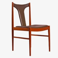 Danish Dining Chair by Arne Vodder for Sibast, 1960s