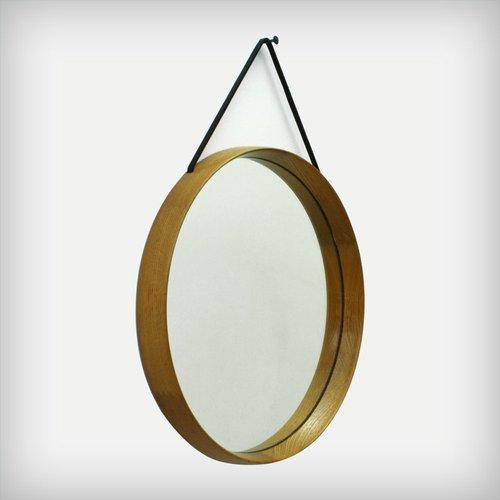 Schwedischer spiegel mit eichenholzrahmen von uno und for Schlafsofa uno