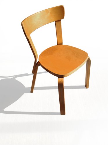 Birch side chair by alvar aalto for artek 1937 for sale for Alvar aalto chaise longue
