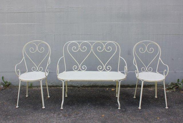 Deutsche Kinder- Gartenmöbel, 3er Set bei Pamono kaufen