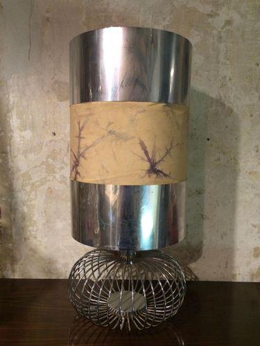 Vintage steel table lamp en venta en pamono aloadofball Choice Image