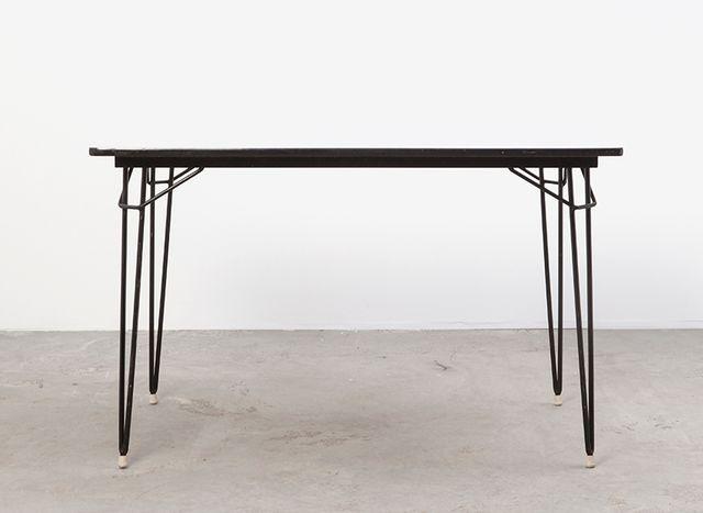 niederl ndischer esstisch von w h gispen f r kembo 1950er bei pamono kaufen. Black Bedroom Furniture Sets. Home Design Ideas