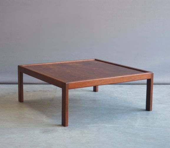 Low Rosewood Coffee Table, 1960s For Sale At Pamono