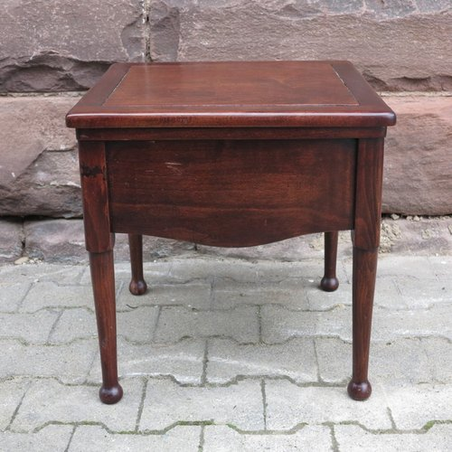 Biedermeier Mahogany Toilet Chair With Recessed Ceramic Top For Sale At  Pamono