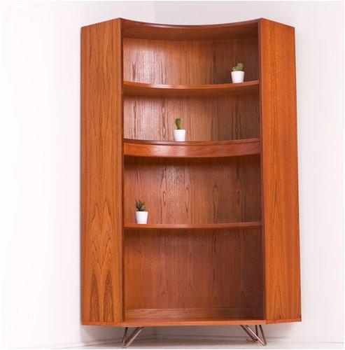 Vintage Teak Corner Bookcase From G Plan 1960s For Sale