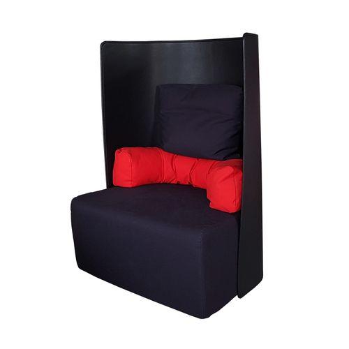 Black U0026 Red Armchair By De Pas, Du0027Urbino, And Lomazzi For Zanotta, 1984 For  Sale At Pamono