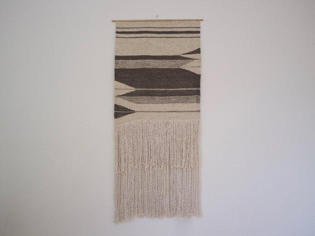 handgewebter flint wandteppich von weavesmith 2016 bei pamono kaufen. Black Bedroom Furniture Sets. Home Design Ideas