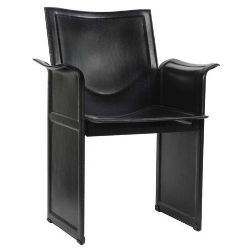 Vintage korium stuhl von tito agnoli f r mateo grassi bei for Stuhl designklassiker vintage