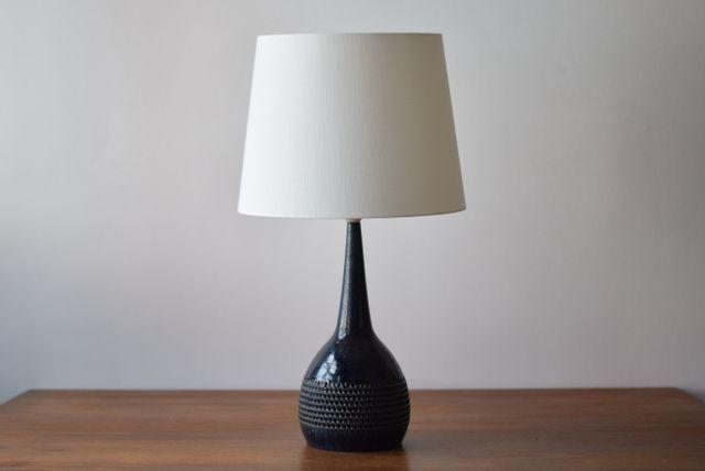 Blue Scandinavian Table Lamp By Per Linnemann Schmidt For