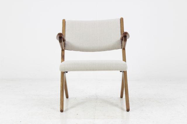 D nischer teak sessel 1960er bei pamono kaufen for Sessel 18 jahrhundert