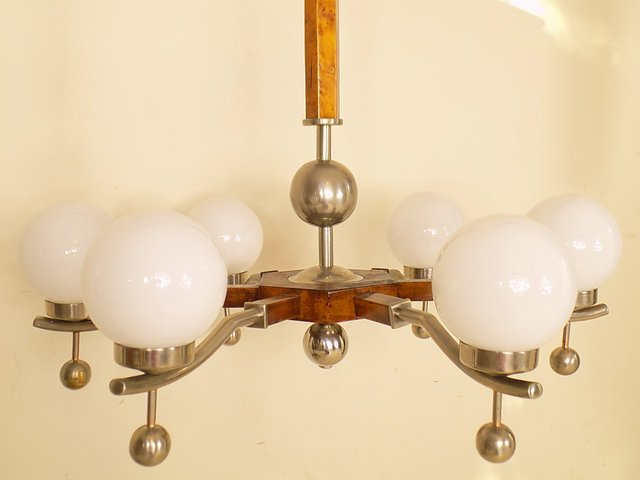 Art deco chandelier 1930s for sale at pamono