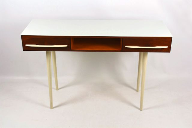 MidCentury Desk or Console Table by M Por for UP Buovice 1960s