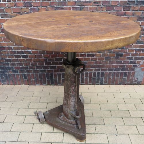 Vintage Cast Iron Bar Table For Sale At Pamono
