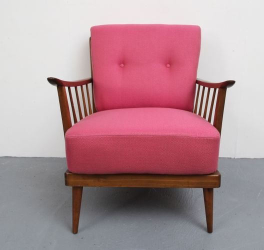 Pink Armchair, 1950s for sale at Pamono