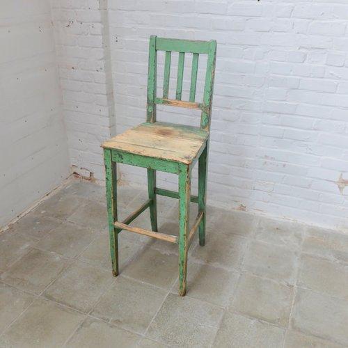 Vintage holz fabrik stuhl bei pamono kaufen for Stuhl fabrik design