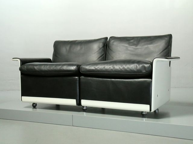 modell rz 620 2 sitzer sofa von dieter rams f r vitsoe 1985 bei pamono kaufen. Black Bedroom Furniture Sets. Home Design Ideas