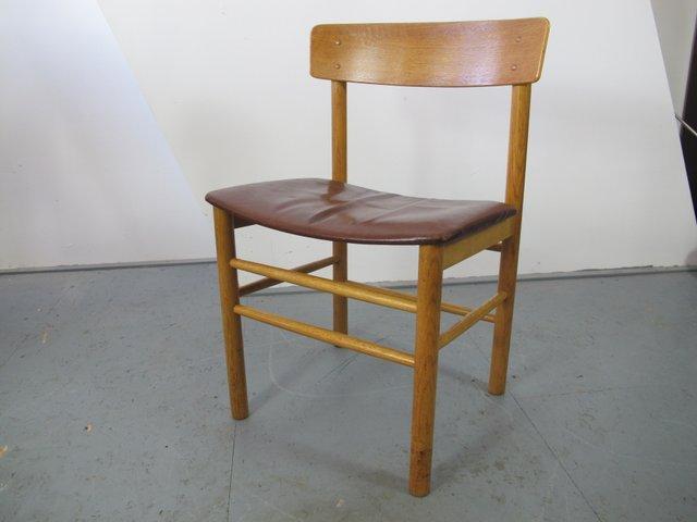 Vintage j39 shaker stuhl von borge mogensen f r fredericia for Stuhl designklassiker vintage