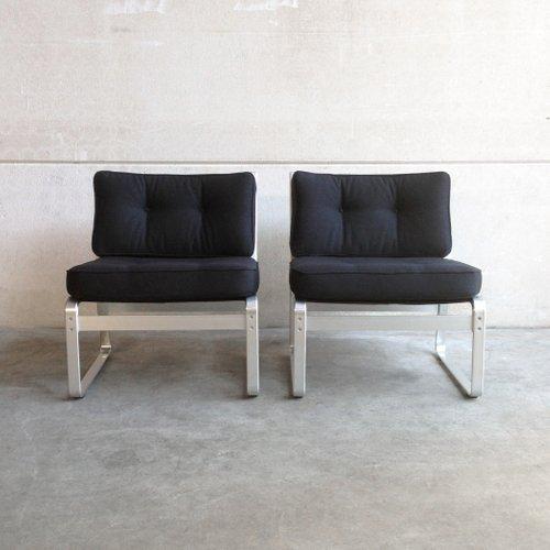 mondo polsterst hle von karl erik ekselius f r joc vetlanda 1960er 2er set bei pamono kaufen. Black Bedroom Furniture Sets. Home Design Ideas
