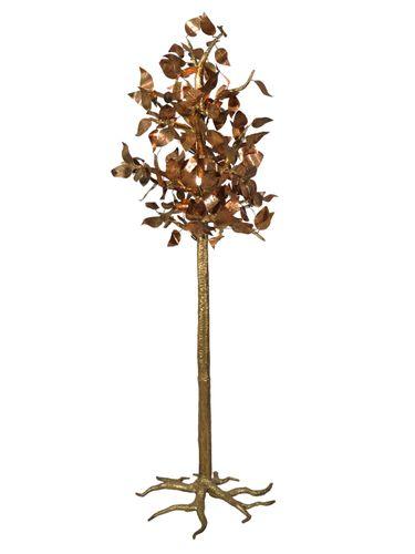 Beleuchteter Skulptur-Baum von Jacques Duval Brasseur, 1970 bei ...