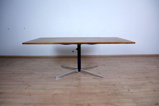 Verstellbarer Teak Tisch von Wilhelm Renz, 1960er bei Pamono kaufen