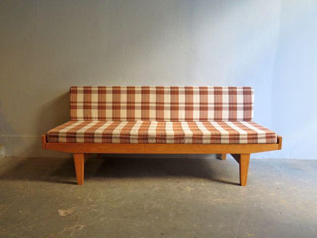 d nisches vintage doppel bettsofa bei pamono kaufen. Black Bedroom Furniture Sets. Home Design Ideas