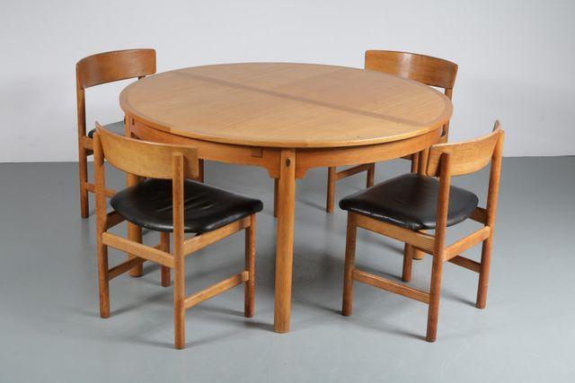 skandinavisches esszimmer set von b rge mogensen f r karl andersson s ner 1950er bei pamono. Black Bedroom Furniture Sets. Home Design Ideas