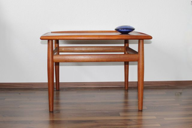 Teak Side Table By Grete Jalk For Glostrup, 1960s For Sale At Pamono