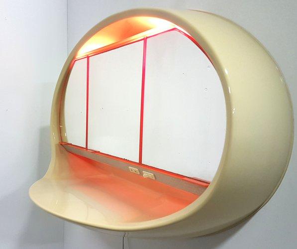space age badezimmer schrank von curver 1970er bei pamono kaufen. Black Bedroom Furniture Sets. Home Design Ideas
