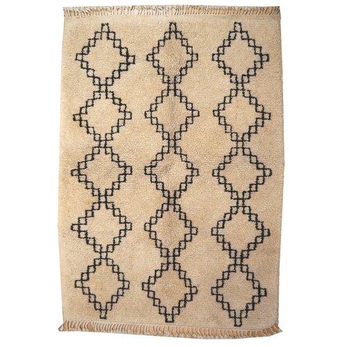 diamond low flokati moroccan rug beni and pin rugs souk berber ouarain high