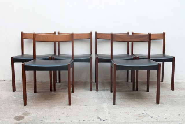 belgische esszimmerst hle von alfred hendrickx f r belform. Black Bedroom Furniture Sets. Home Design Ideas