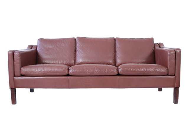 d nisches mid century sofa mit 3 sitzen aus braunem leder bei pamono kaufen. Black Bedroom Furniture Sets. Home Design Ideas