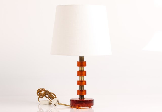 Swedish table lamp by carl fagerlund for orrefors 1960s for sale at pamono