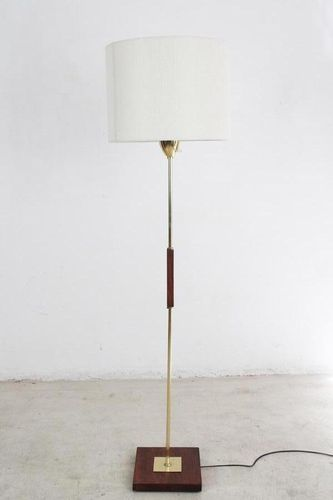 Copper Floor Lamp, 1960s for sale at Pamono