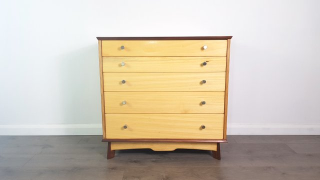 acorn elm mid c products century of dresser drawer west chest drawers