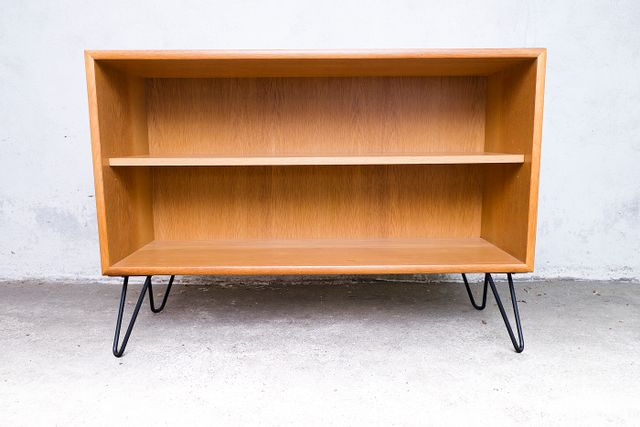 Mid Century German Oak Shelves From Wk M 246 Bel 1960s For
