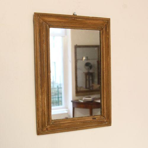kleiner antiker d nischer spiegel bei pamono kaufen. Black Bedroom Furniture Sets. Home Design Ideas