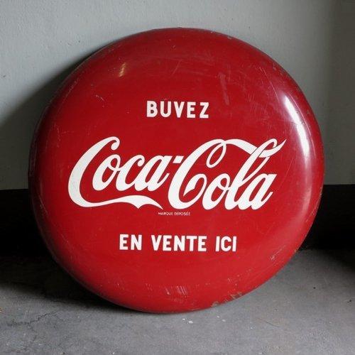 large french coca cola cap billboard for sale at pamono. Black Bedroom Furniture Sets. Home Design Ideas