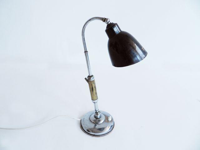 Italienische verstellbare tischlampe von leonia 1930er for Italienische esstische