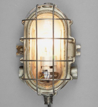 Eared turtle industrial wall lamp for sale at pamono eared turtle industrial wall lamp aloadofball Choice Image