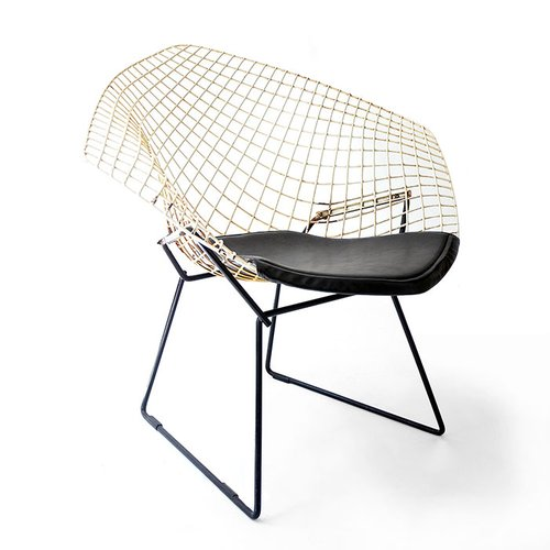 diamond chair 421 by harry bertoia 1950s for sale at pamono. Black Bedroom Furniture Sets. Home Design Ideas