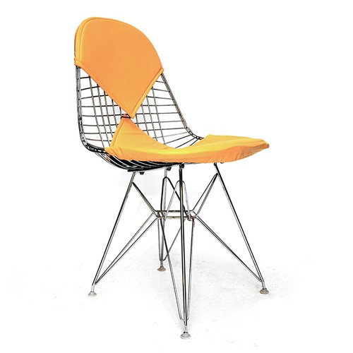Dkr 2 bikini chair by charles ray eames 1950s for sale for Chaise eames dkr