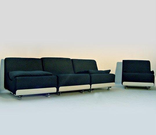 Vintage Sofa Units By Luigi Colani For COR, 1969, Set Of 4 For Sale At  Pamono