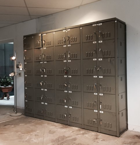 Industrial Schrank vintage industrial cabinet by mewaf 1950s for sale at pamono