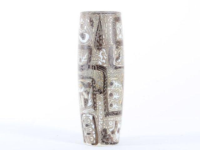 719 3116 ovale baca vase von nils thorsson f r royal copenhagen bei pamono kaufen. Black Bedroom Furniture Sets. Home Design Ideas