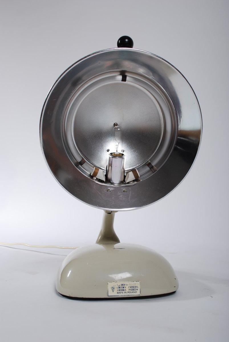 lampe de bureau d 39 h pital vintage 1950s en vente sur pamono. Black Bedroom Furniture Sets. Home Design Ideas