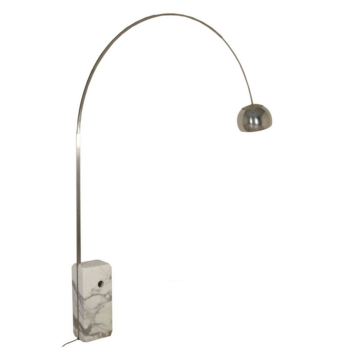 Arco Floor Lamp by the Castiglioni Brothers for Flos, 1962 for ... for Original Arco Lamp  113cpg
