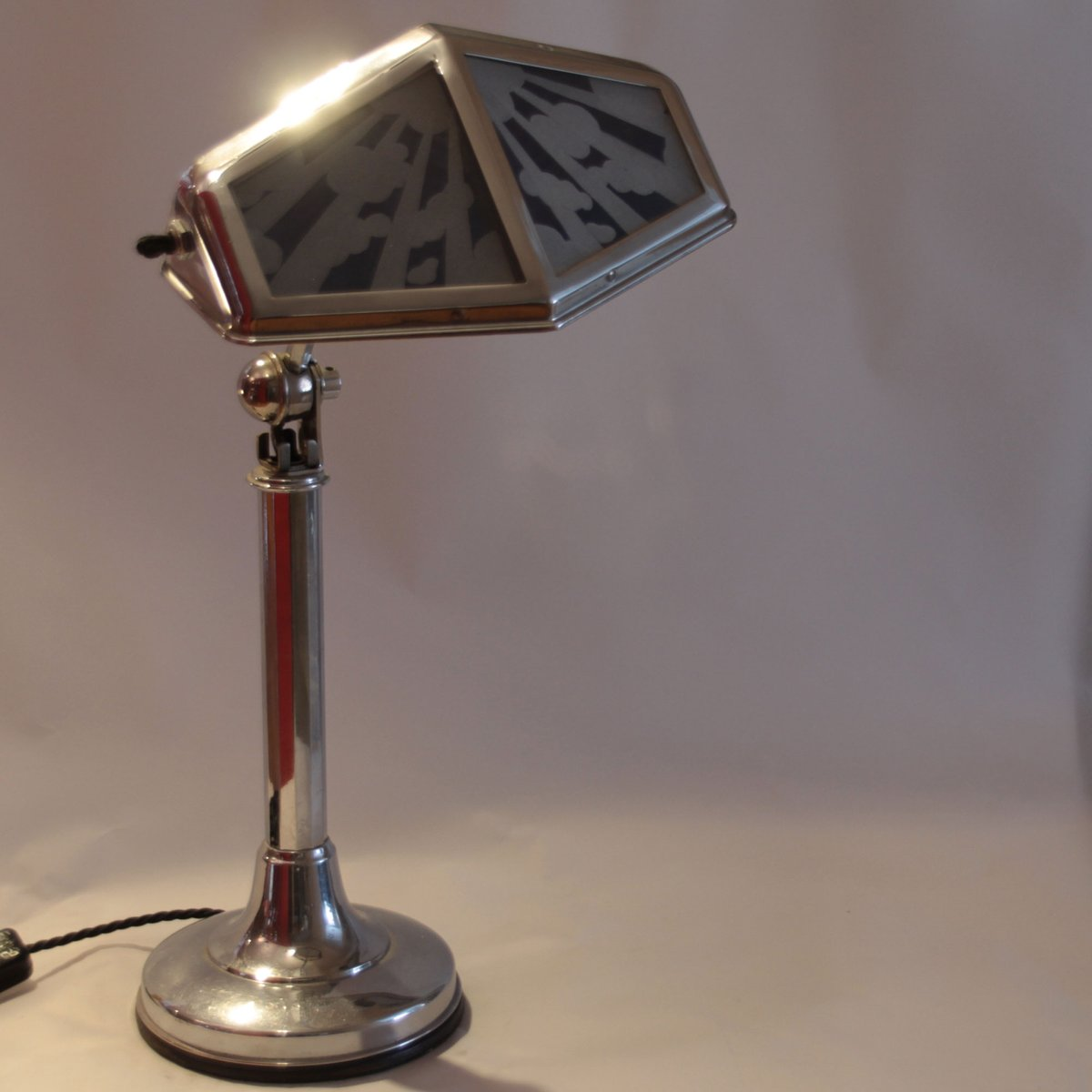 Large French Functional Desk Lamp from Pirouette, 1920s for sale ...